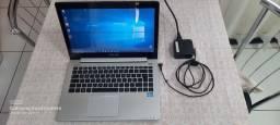 Notebook Asus i3 6 gigas de Ram HD 500