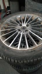 Roda 17 com pneus 0 km