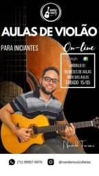 Curso de violão iniciante online (aprenda de verdade)