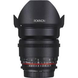 Lente Rokinon Cine 16mm T2.2 - Canon EF-S