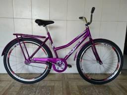 Bicicleta aro 26 nova aero ultra violeta
