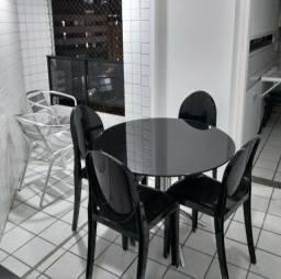 Apartamento um quarto Boa Viagem Mobiliado Lazer Total