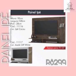 Painel ipê para TV até 43 polegadas painel ipê painel painel painel painel