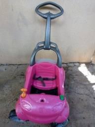 Carrinho de passeio (cor rosa )
