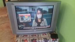 """TV tubo 29"""" com conversor"""