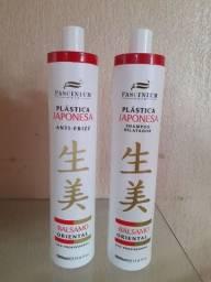Plastica japonessa profissional Fascinium hair 1litro