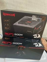 Fonte Reddragon 500w 80plus