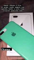 iPhone 8 Plus com nota