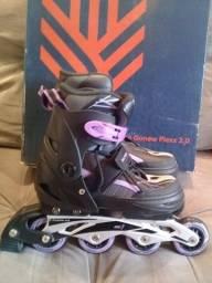 Vendo dois patins gonew Flexx 2.0 são patins profissionais. Valor 150,00 cada