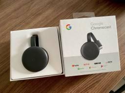 Chromecast 3 (Qualquer TV vira Smart)