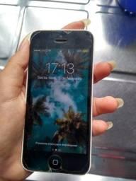 Iphone 5c Branco barato com capinha e carregador
