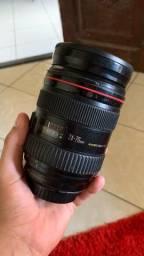 Lente cânon 24-70 mm Série L