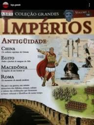 Revista impérios + mapa