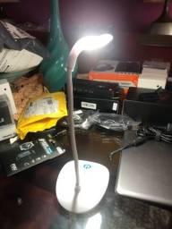 Luminária de led recarregável nova última unidade