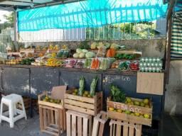 Venda de frutas, legumes, verduras e ovos