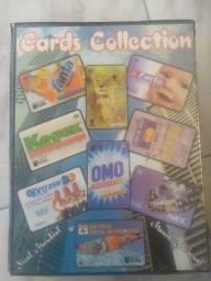 Coleção completa de cartão