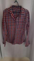 Camisa quadriculada tam p