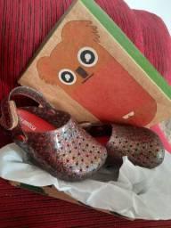 Mini melissa multicolor babouche furadinha