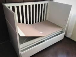 Berço Soft Grade Ripada - mini cama (impecável - sem uso)