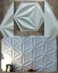 Placas de gesso 3D a partir de 35 o metro²