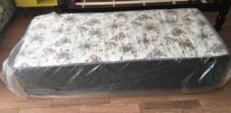 cama box solteiro - direto da fábrica