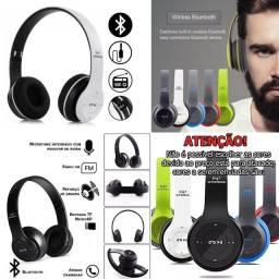Novo original lançamento headset sem fio intra auricular completo cores branco e preto