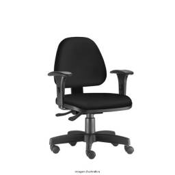 Cadeira Poltrona Giratória Com Ajustes Frisokar Sky