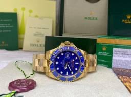 Relógio Rolex vidro safira