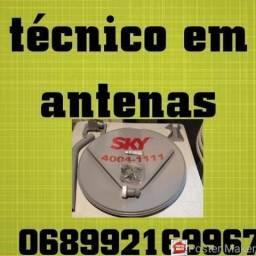 Técnicos em antenas técnico sintonia instalador