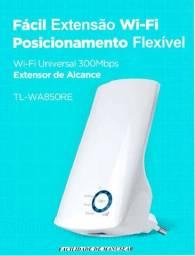 Título do anúncio: Repetidor Expansor de Sinal de Internet TP-Link Wi-Fi  300Mbps - TL-WA850RE