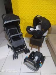Carrinho chicco Miinimo 2 com bebê conforto
