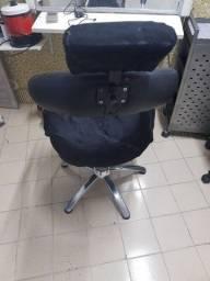 Cadeira cabeleireiro e sobrancelhas
