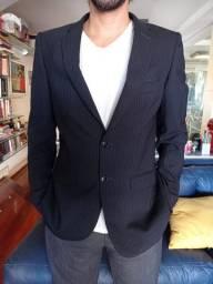 Blazer azul marinho da marca Zara. Tamanho 42 (M)