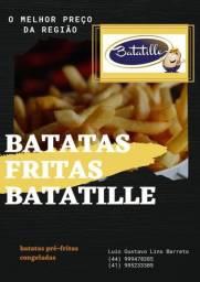 BATATA PRÉ FRITA 2KG $14,00