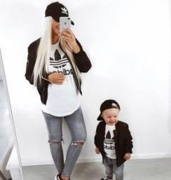 T-shirt mãe e filho(a)