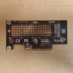 Adaptador PCIe para SSd NVMe