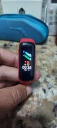 Galaxy Fit2 Samsung com<br>Bluetooth, Sensor de Frequência<br>Cardfaca e Resistência à água