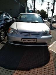 Honda/Civic Ex 1.7 Automático/B. Couro  151.400  Km