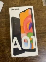 Samsung galaxy A 01 lacrado, garantia 1 ano, PROMOÇÃO !