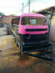Trailer Food Truck Kombi