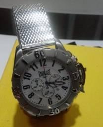 Relógio Everlast original com nota 100m com cronógrafo