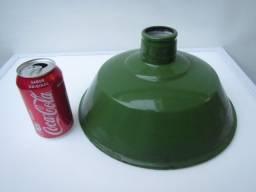 Cupula Industrial Esmaltada Antiga