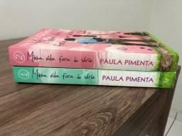 Livros Minha vida fora de serie 1 e 2