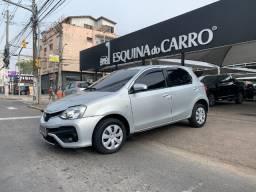 Título do anúncio: Toyota etios 1.5 xs automatico 2018 unico dono 17.000 km