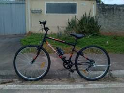 Bicicleta Caloi Aro 26 quadro em aço carbono