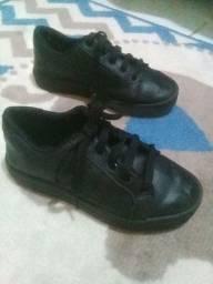 Sapato Infantil Preto, tamanho 31