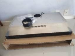 100% NOVO - Depurador de ar Suggar Slim Touch 80cm cor Inox di81thix 110v