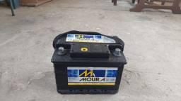 Bateria moura 60hp semi nova