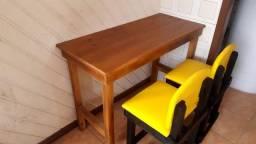 Mesinhas C/2 cadeiras pra kit. Net.promocao  290.00