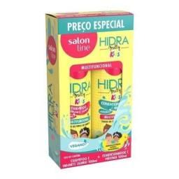 Kit Shampoo + Condicionador Hidra Multy Kids 300ml - Salon Line<br><br>